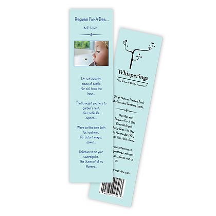 Requiem For A Bee (Boy Bookmark)