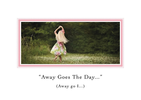 Away Goes The Day (Girl Dancing in Meadow)
