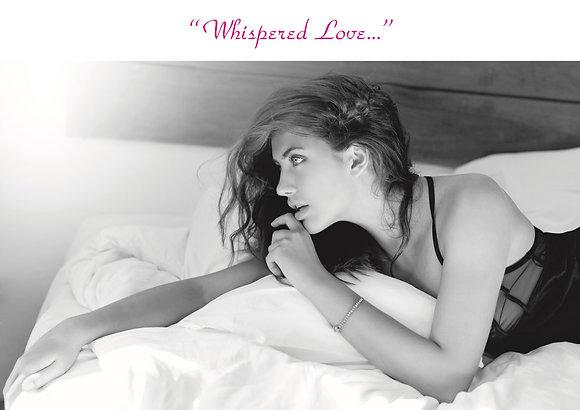 Whispered Love (Girl On Pillow)