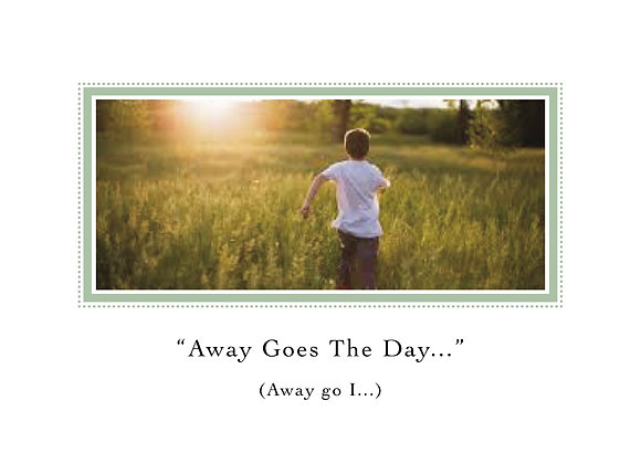 Away Goes The Day (Boy in Green Field)