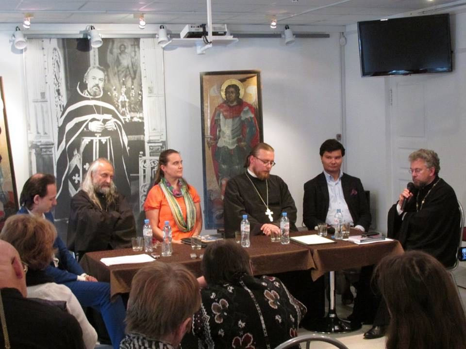 Conference with Orthodox priests in Russia