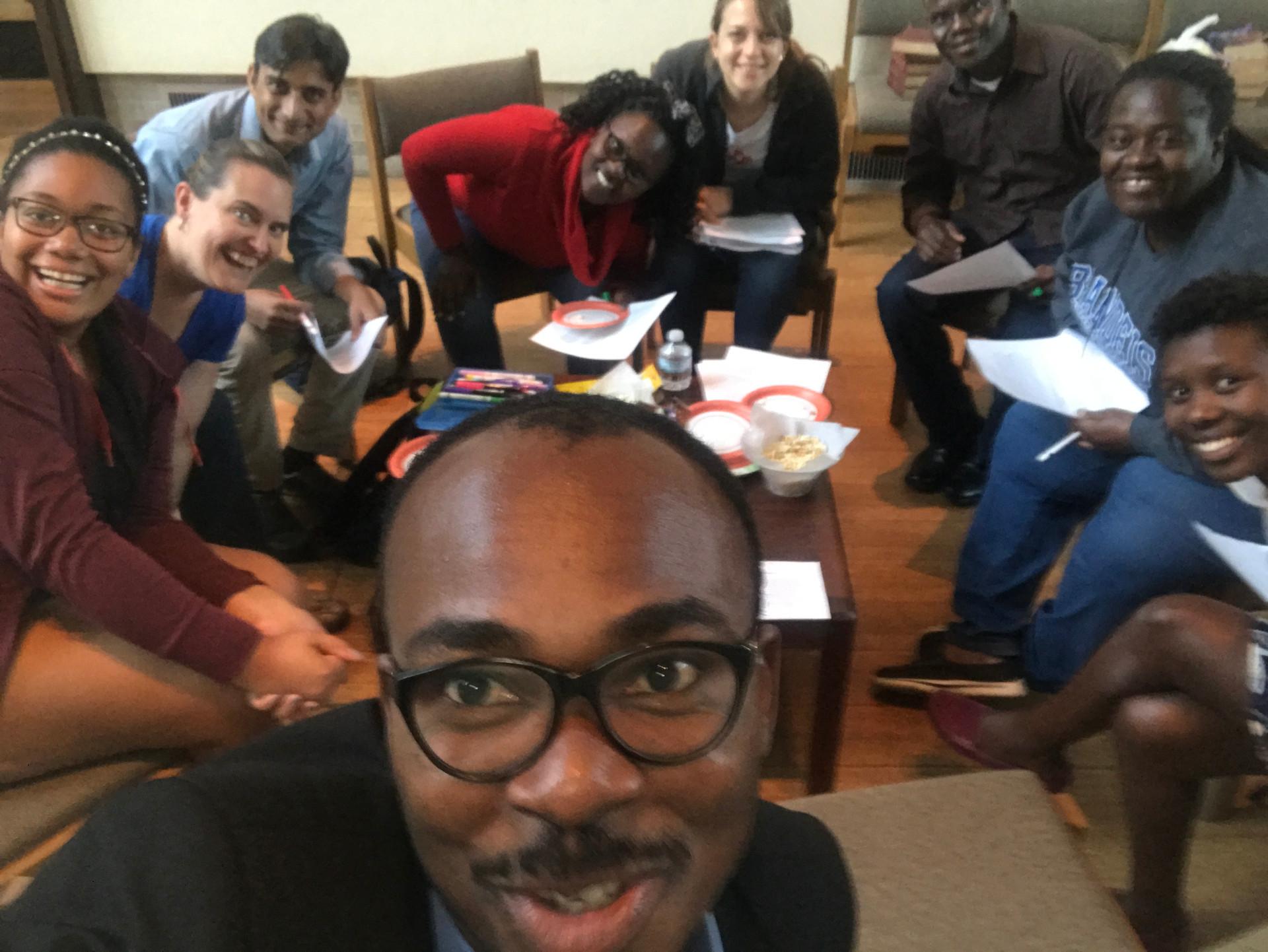 Leading graduate students at Brandeis University