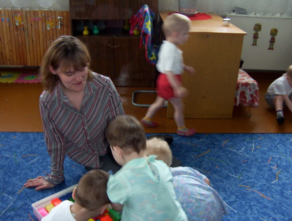 Volunteering at a Russian orphanage