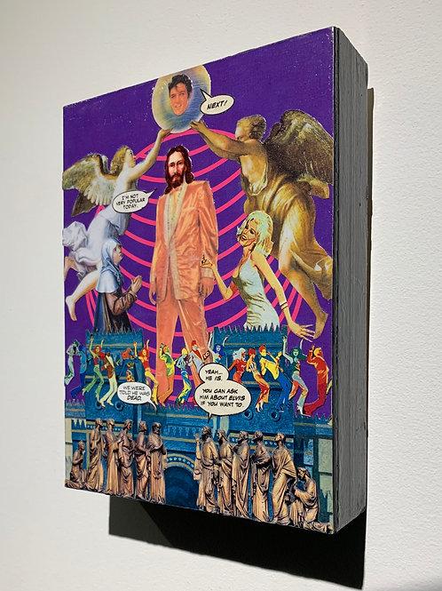 Marty Gordon 'Transfiguration' (original handmade collage)