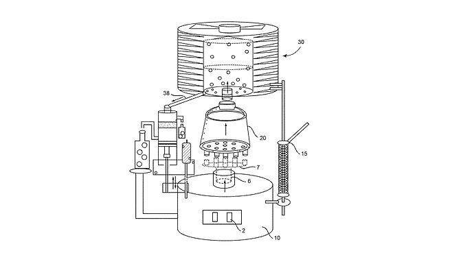 カプセル内の植物から精油およびヒドロゾルを抽出するための蒸留装置