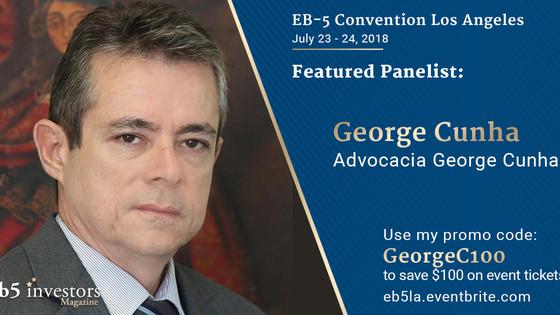 Programa EB5. Advocacia Internacional George Cunha