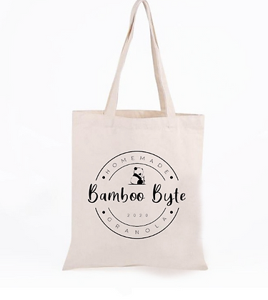 Bamboo Byte Recycled Cotton Bag