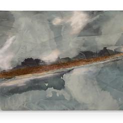 June Lake, Across the Frozen Floor