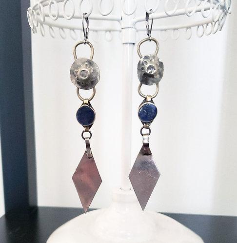 Turkoman Fringe & Kuchi Earrings
