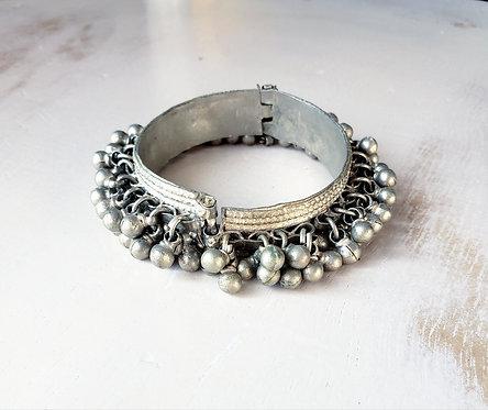 Vintage Kuchi Bell Bracelet