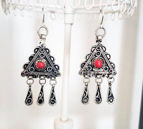 Turkoman Charm Earrings
