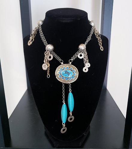 Turquoise Kuchi Necklace