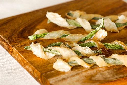 Satisfying Organic Wild Cod & Green Bean Crunch