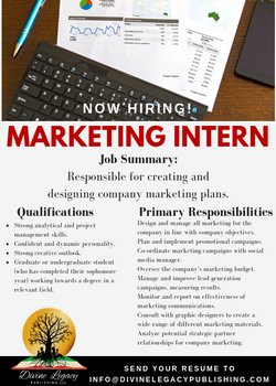 DLP - Marketing Intern Flyer