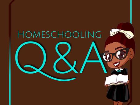 Homeschooling Q&A