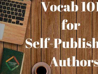 Vocab 101 for Self-Published Authors