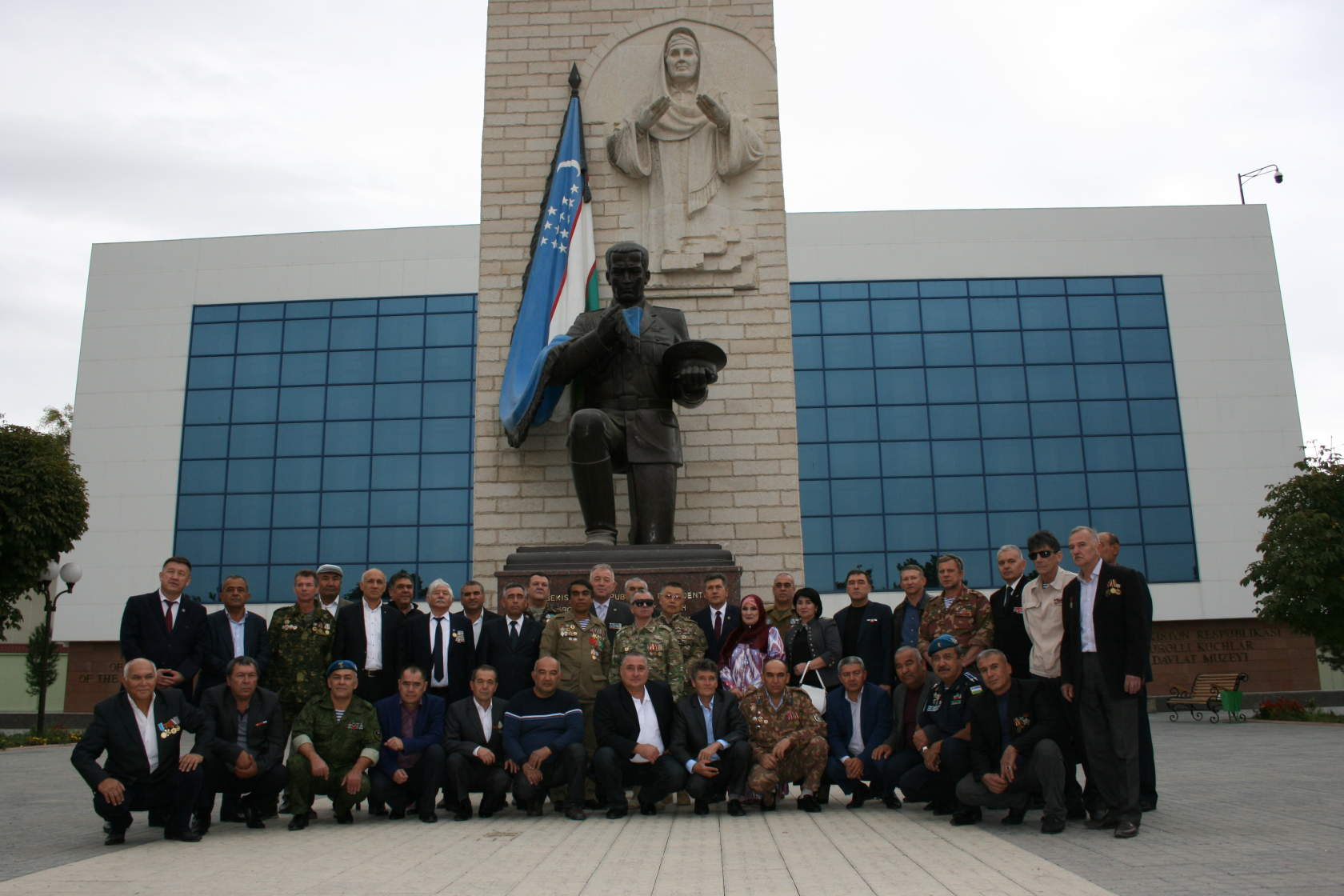Музей МО Узбекистана. Ташкент.