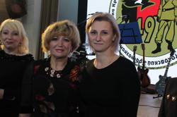Виктория Евсеенкова, Ирина Логунова и Татьяна Галынина