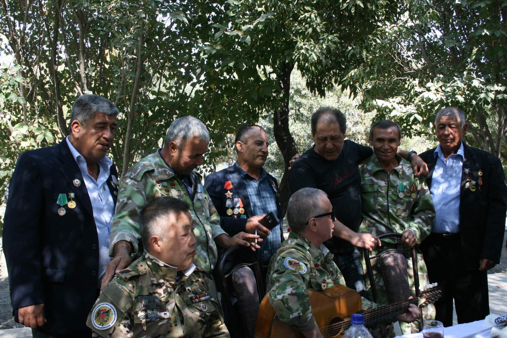 Гиждуванские ветераны. Узбекистан.