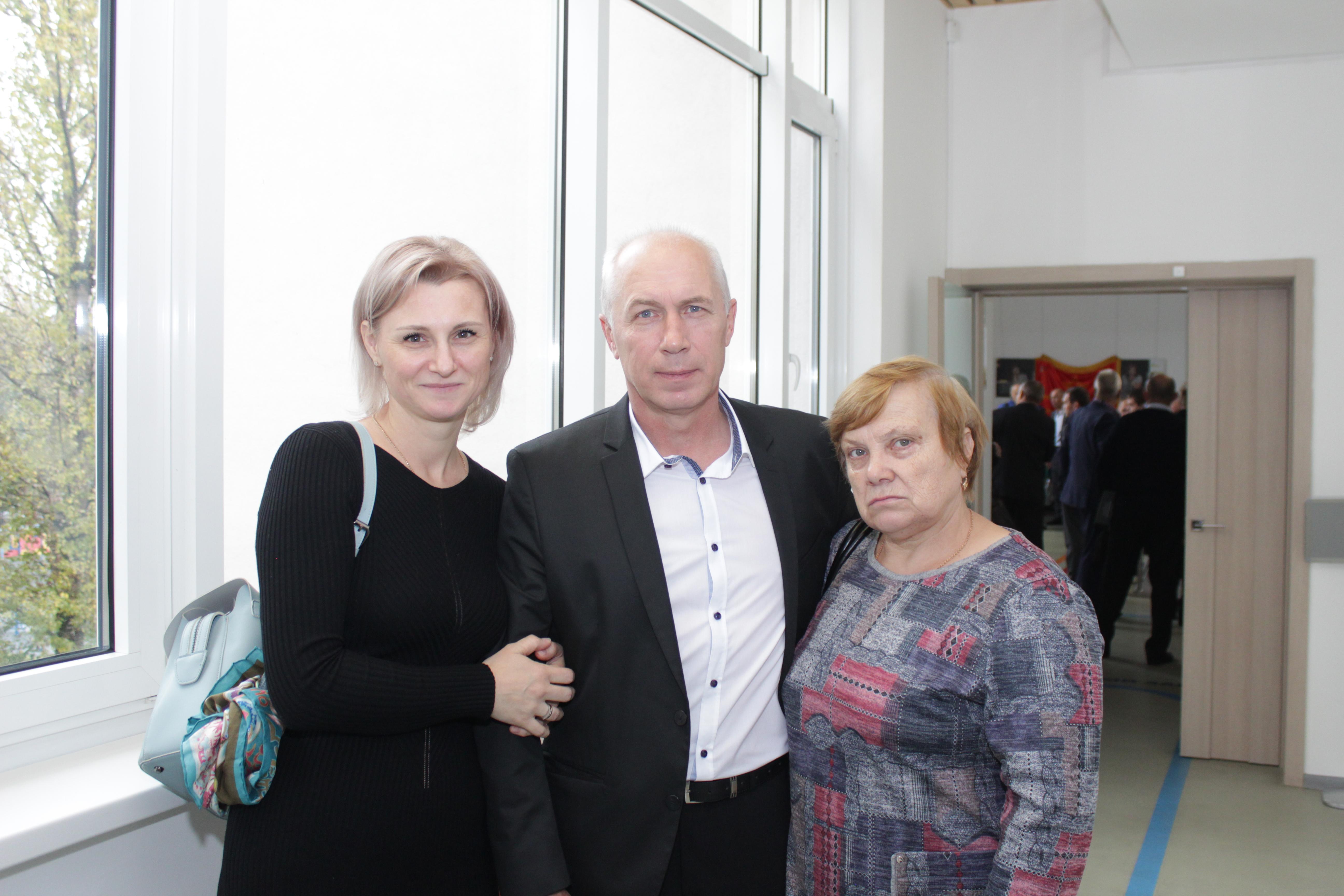 Семья Алексея Христофорова (2 минбатарея