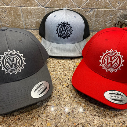 Structured Twill Snap Back Hat