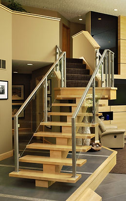 Albrecht Wood Interiors Staircase