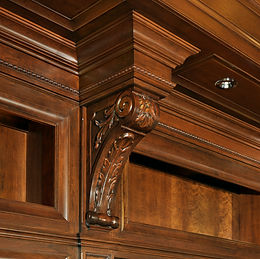Albrecht Wood Interiors Corbel Detal