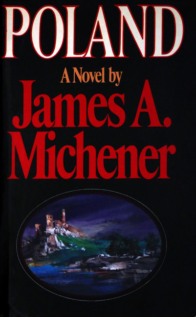 1983 D076956 1983 Michener James  podpisane ksiazki Czeslaw Czaplinski.jpg