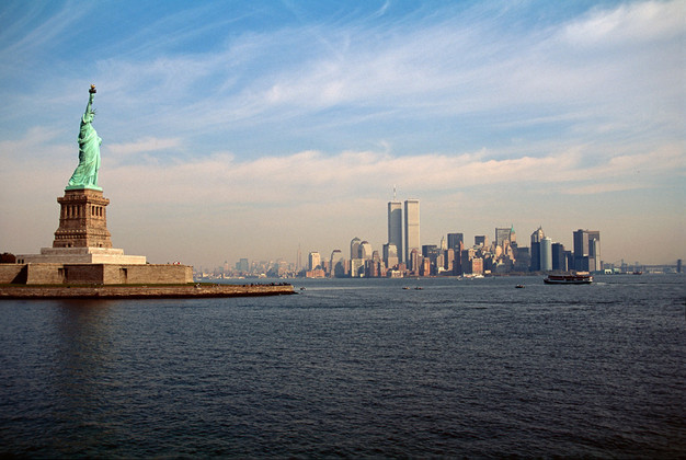 S0034 1985-95 New York Statua Wolnosci (