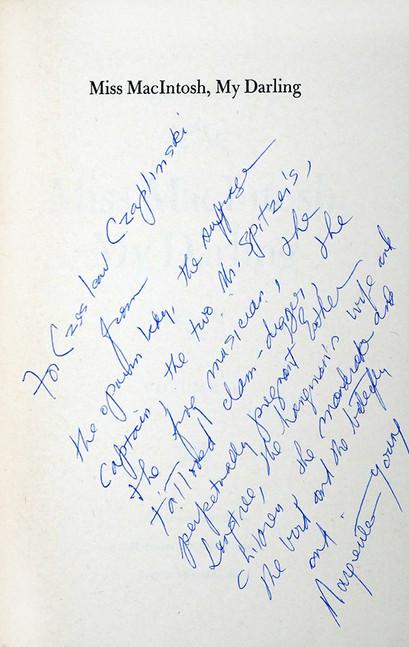 1985 D077021 Young Marguerite 1985 ksiazki podpisane Czeslaw Czaplinski.jpg
