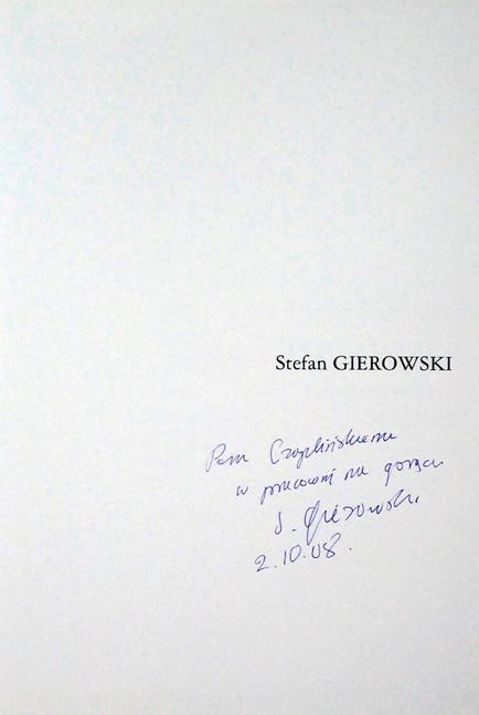 2008 D074233 120416 Stefan Gierowski 2008 ksiazki podpisane Czeslaw Czaplinski.jpg