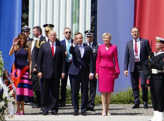 D079803 070617 Donald Trump Andrzej Duda