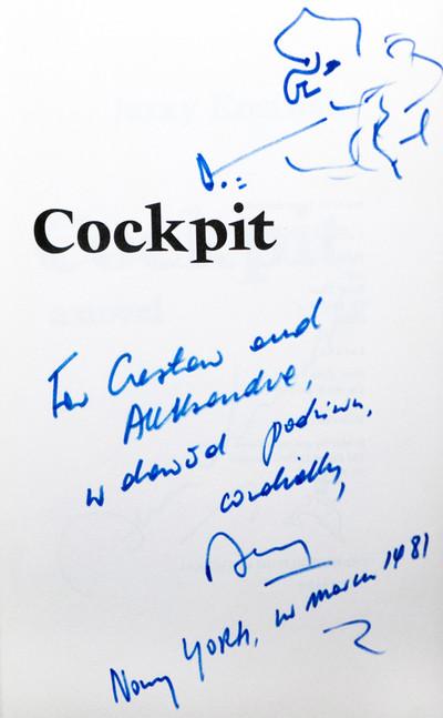 1981 D074338 1981 Jerzy Kosinski ksiazki podpisane Czeslaw Czaplinski .jpg