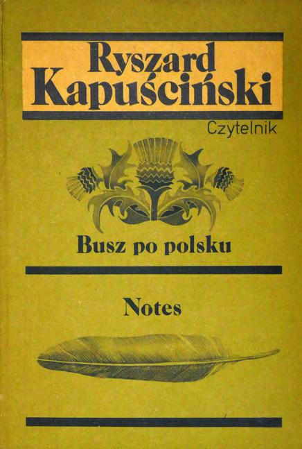 1989 D076976 1989 Kapuscinski Ryszard  podpisane ksiazki Czeslaw Czaplinski.jpg