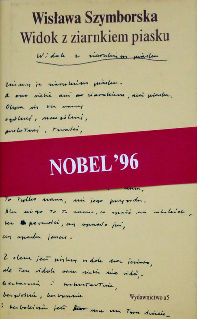 1998 D074217 120416 Wislawa Szymborska 1998 ksiazki podpisane Czeslaw Czaplinski .jpg