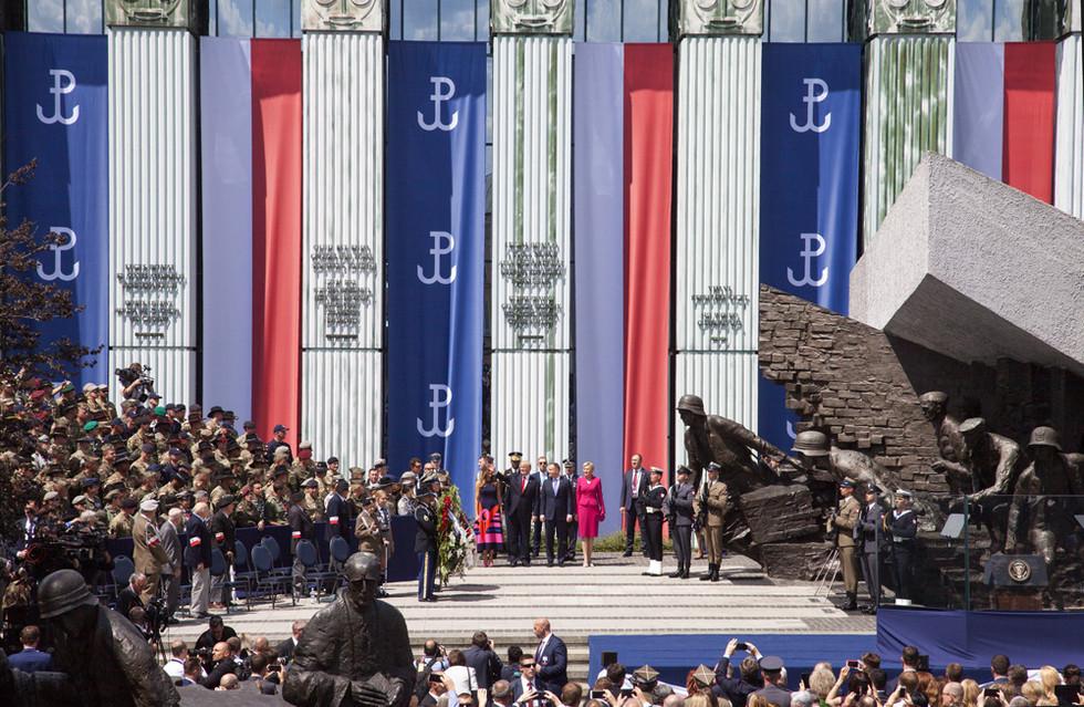 D079677 070617 Donald Trump Andrzej Duda