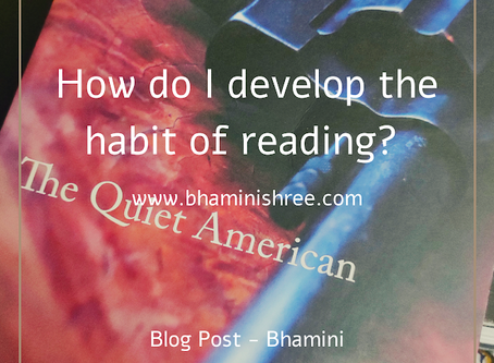 How do I develop the habit of reading?