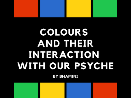 Colors and their interaction with our psyche