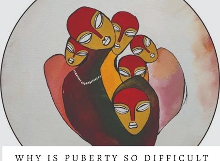 "When ""Puberty"" raises an eyebrow!"