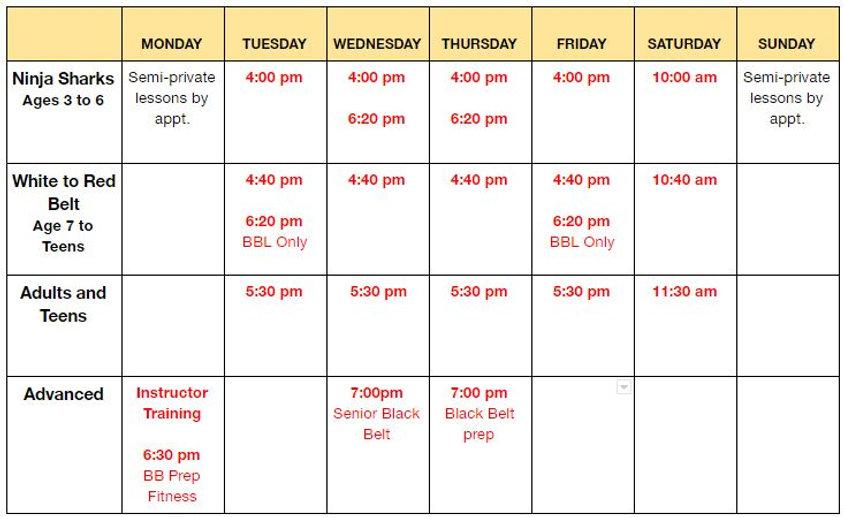 schedule November.JPG