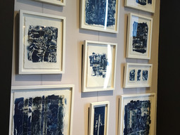 New Cyanotype installation at Balsamo Antiques
