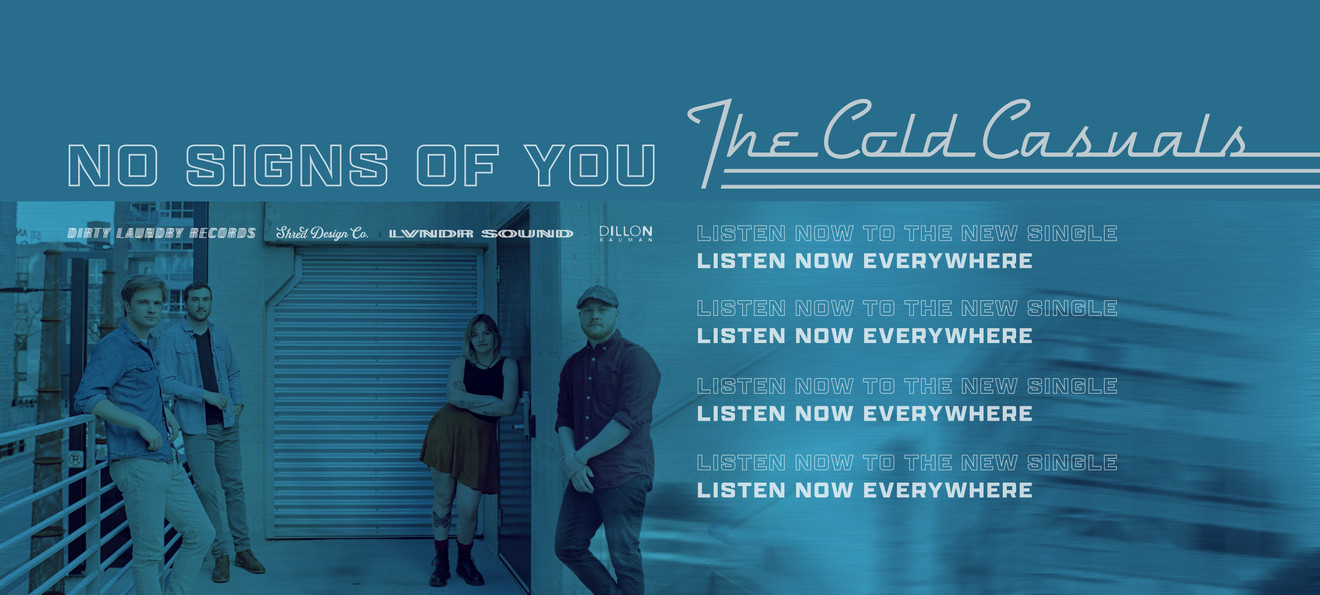 LISTEN NOW to NO SIGNS OF YOU