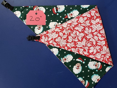 "Animal Bandana 20"" - Reversible"