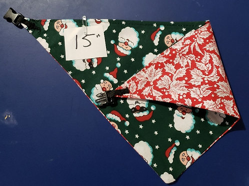 "Animal Bandana 15"" - Reversible"
