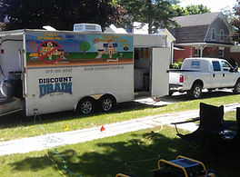 Discount Drain Truck and Trailer