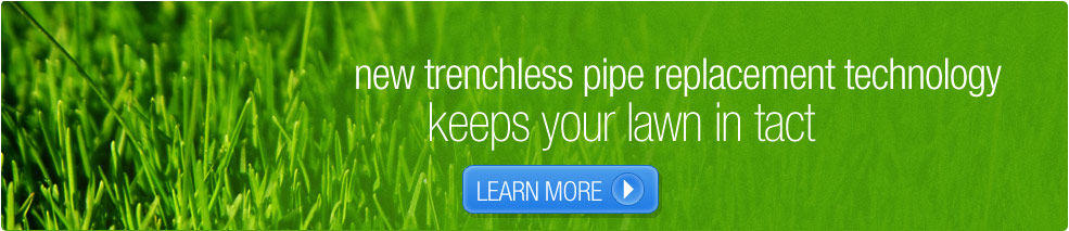 New trenchless pipe replacement