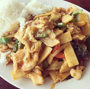 Thai Spicy Basil with Chicken