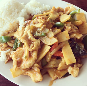 Thai Spicy Basil with Chicken