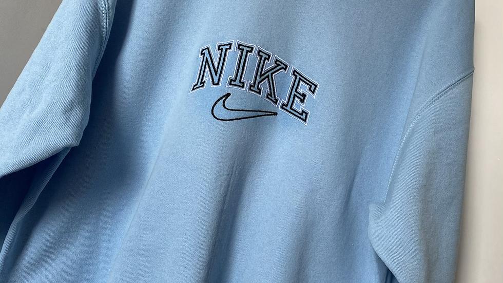 Vintage Nike Baby Blue Sweatshirt