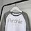 Thumbnail: Personalised Embroidered Name Baseball T-Shirt 4-5 Years